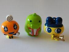 TAMAGOTCHI Figures! x 3! Party bag toys! Collectable! Pokemon? Gift!