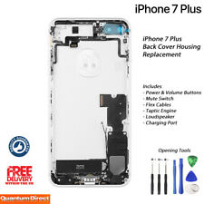 NEW iPhone 7 Plus Fully Assembled Back Cover Housing with ALL Parts - SILVER