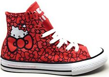 Converse Unisex Niños CTAS Hi Hello Kitty Zapatillas Skate Limitada Edición Rojo