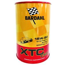 Olio motore auto Bardahl XTC C60 15W50 ACEA A3-B4 - 2 Litri