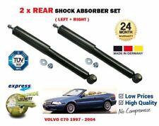 FOR VOLVO C70 2.0 2.3 2.5 T5 1997-2005 NEW 2x REAR SHOCK ABSORBER SHOCKER SET