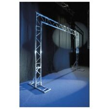 Showtec Mobile DJ Truss Stand - 2 Punkt Traverse Traversensystem Messestand