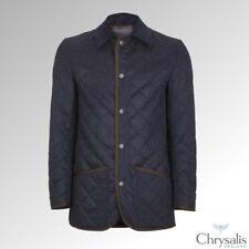 "Chrysalis Blake Quilt Jacket Loden Navy 44"""