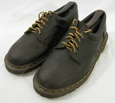 Dr Martens Brown Leather Oxford womens size 7 #8053 Lace-up Casual England
