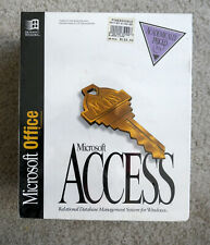 Microsoft Access v2.0 -- unopened