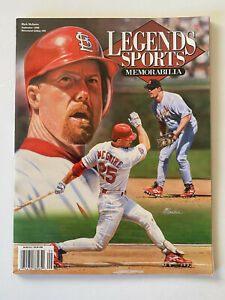 MARK McGWIRE ~ LEGENDS SPORTS MEMORABILIA September 1998 ~ Newstand Edition #85