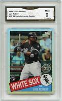 2020 Topps Chrome Luis Robert Rookie Card Retro 1985 85TC-17 White Sox GMA 9