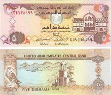 United Arab Emirates 5 Dirhams 2009 UNC