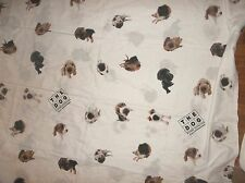 THE DOG Artlist Collection on Twin Size SHEETS Flat and Fitted