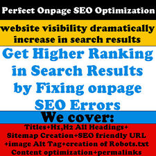 Perfect Onpage SEO Optimization for Your Website - Website SEO -Website Traffic