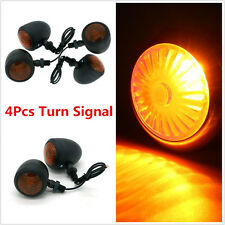 4x Motorcycle Bike Indicator Turn Signal Light Bulb for Bobber Cafe Racer