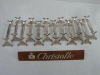 CHRISTOFLE 12 PORTE COUTEAUX MARLY  - 02/20 - état neuf