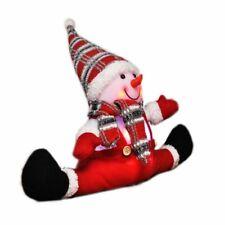Snowman with LED Lighting Christmas Advent Christmas Figures Illuminated