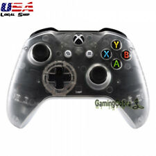 Clear Repair Front Housing Shell Cover for Microsoft Xbox One X One S Controller