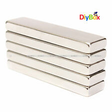 N52 40x10x4mm Big Strong Block Bar Fridge Magnets Rare Earth Neodymium Diy
