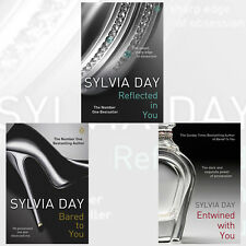 Sylvia Day Crossfire Trilogy Collection 3 Books Set Entwined With You, Bared to