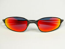 Oakley A Wire 2.0 Carbon Ruby Sonnenbrille Half Wiretap Juliet Romeo Square Why