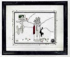 PUR 4 BLACK CAT GOLF CROSS STITCH KIT by CALICO CROSSROADS - CUTE DESIGN!