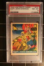 1948 Leaf Pirate Cards #101 Capt. John Derdrake  NM-MT 8