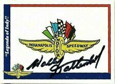 WALLY DALLENBACH SR signed 1991 LEGENDS OF INDY trading card RACING #100