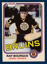 RAY BOURQUE 81-82 O-PEE-CHEE 1981-82 NO 1 EX+ 1