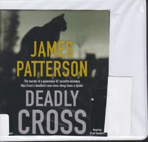 DEADLY CROSS by JAMES PATTERSON ~ UNABRIDGED CD AUDIOBOOK