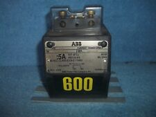 NEW   ABB Current Transformer ANSI Indoor / Outdoor 600:5A  CSF