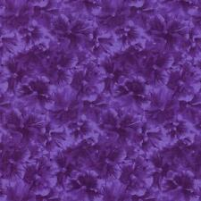 RJR Debbie Beave Lovely Purple Pansy Tone Floral Quilt Fabric Sewing 1450-003 3C