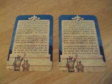 Vintage 1952 BSA Membership Cards~BOY SCOUTS of AMERICA~Ephemera~Paper~