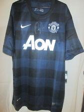 Robin Van Persie Firmado Manchester United 13/14 Away camiseta de fútbol del Coa / 33053