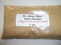 1 oz. St. Johns Wort Herb Powder (Hypericum perforatum)