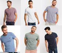 Fat Face Men Crew Neck Short Sleeve ORGANIC Cotton Summer Jersey T shirt Top Tee