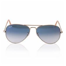 Gafas de sol de hombre azul aviadores 100% UV