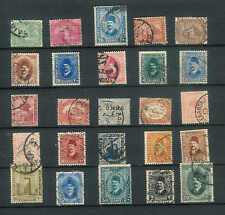 Lovely collection of 25 old stamps from Egypt USED in Vntage Glassine Lot D10