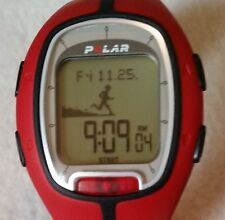 Polar RS200 Red Heart Rate Monitor, Multi Functions - Watch Only