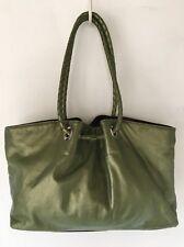 Susan Farber Signed Nordstrom Women's Leather Handbag Purse green