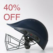 40% OFF-Ayrtek Cricket- PremierTek Senior Cricket Helmet-Blue Steel