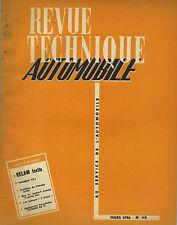 (35B)REVUE TECHNIQUE AUTOMOBILE VELAM ISETTA / TRIUMPH TR 2