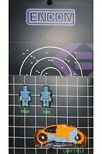 Kubrick Tron Set (A) Yori Luce Cycle Encom Medi Com Figura Giocattolo F/S Usato