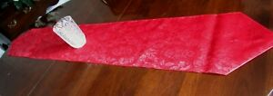 """TABLE RUNNERS..100 % POLYESTER..12"""" X 72""""..5 COLORS TO CHOOSE FROM"""