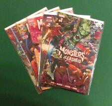 Monsters Unleashed #1-5 (2017, Marvel)