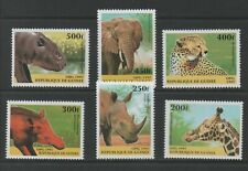 Thematic Stamps Animals - GUINEA 1997 MAMMELS 1733/8 6v