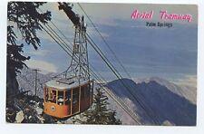 RPPC Aerial Tramway Palm Springs California Postcard