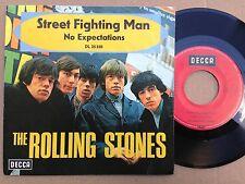 7'Rolling Stones >Street Fighting../No expectations<  SCHWARZE SCHRIFT Original