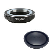 K&F adapter with lens cap for Leica M39 mount lens to  Sony NEX E camera