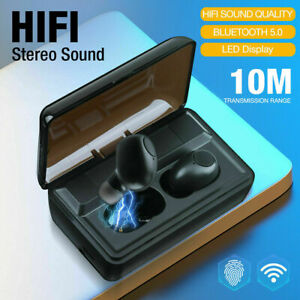 Kopfhörer Bluetooth 5.0 Touch Control In-Ear Ohrhörer Wireless Headset +Ladebox