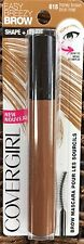 New CoverGirl Easy Breezy Brow Shape & Define Mascara 615 Honey Brown