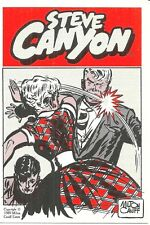 STEVE CANYON TRADING CARD - MILTON CANIFF - 1989 KITCHEN SINK CARD #21