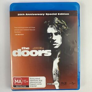 The Doors 20th Anniversary Special Edition BLU RAY Val Kilmer - Free Post