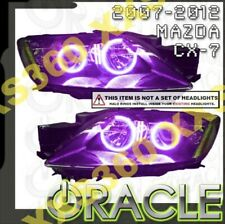 ORACLE Headlight HALO RING KIT for Mazda CX7 CX-7 07-12 PURPLE LED Angel Eyes